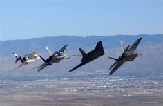F-4 F-15 F-117 F-22
