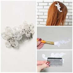 Lace Comb | 50 DIY Anthropologie Hacks For Every Facet Of Your Life