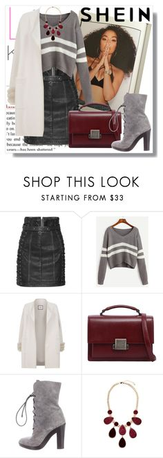 """Untitled #419"" by sejdina ❤ liked on Polyvore featuring Balmain, Max & Moi, Yves Saint Laurent, Reed Krakoff and GUESS by Marciano"