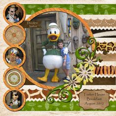 Kit: Animal Kingdom by Britt-ish Designs  Template Challenge #161 on MouseScrappers.com