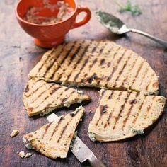 Quesadillas mit Ziegenkäse Rezept | Küchengötter