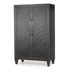 Andrew+Martin+Josephine+Cabinet+-+Art+deco+cabinet+with+gunmetal+finish+on+wood+from+Andrew+Martin.  We+love+the+elegant+classic+style+of+this+designer+storage+cabinet+from+Andrew+Martin.  Each+cabinet+is+finished+with+a+burnished+gunmetal+lacquer+and+large+Art+Deco+relief+pattern.  Art+Deco+items+never+go+out+of+fashion+and+are+perfect+for+creating+the+ultimate+luxury+look+inspired+by+the+era+of+opulence.