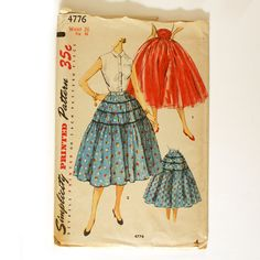 memories.... my mom had soooo many of these simplicity patterns laying around the house when I was growing up!