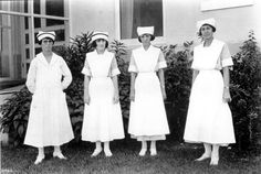 Nurses from Jackson Memorial Hospital circa 1923
