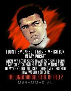 Islam is a religion of peace and love: The Great Muhammad Ali The King Of Ring Islamic Love Quotes, Muslim Quotes, Islamic Inspirational Quotes, Great Quotes, Quotes To Live By, Me Quotes, Motivational Quotes, Famous Quotes, Wisdom Quotes