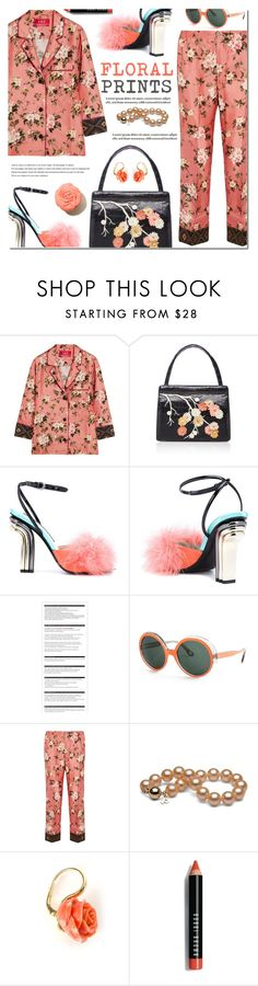 """Floral Prints"" by bibibaubau ❤ liked on Polyvore featuring F.R.S. For Restless Sleepers, Nancy Gonzalez, Marco de Vincenzo, Arche, Mondelliani, Tiffany & Co. and Bobbi Brown Cosmetics"