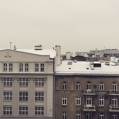 View from my window. A wintery Warsaw. Warsaw, Windows, Home, Ad Home, Homes, Haus, Ramen, Window, Houses
