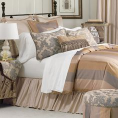 Eastern Accents Memoir Button-Tufted Bedding Collection