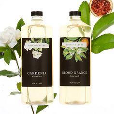 hand soap product labels | botaniculture