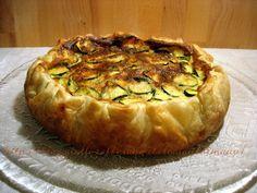 Quiche zucchine e mortadella | Ricette torte salate