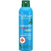 Alba Botanica Cooling Aloe Burn Relief