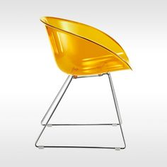 Pedrali stoel Gliss acryl 921 door Marco Pocci & Claudio Dondoli