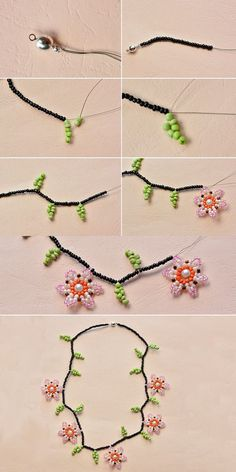 flower necklace, like this one? LC.Pandahall.com will publish the tutorial soon.