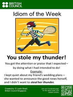 Learn an #Idiom every week.