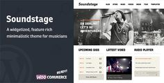 Soundstage - WordPress Theme For Bands/Musicians (Entertainment)