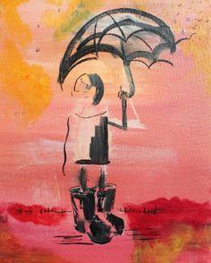 dark pollutes my spirits the sky by JessWatsonArtist on Etsy,
