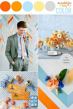 200+ Color Combinations for Your Wedding