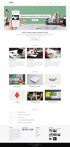 Angle WordPress Theme - WPZOOM