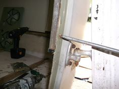 72 Boler Restoration: Window and Door Removal