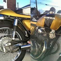 New paint on old Honda #DiversityCycles Diversity-Cycles.com