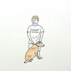 GOLDEN BOY & DOG 세상에서 가장 든든한 서로 . . . . . #소년 #골드리트리버 #강아지 #멍멍이 #반려견 #가족 #친구 #애견 #사랑하는존재 #대체불가 #사랑해 #유기견보호 #동물보호 #드로잉 #일러스트 #스케치 #두들  #boy #dog #goldenretriever #family #love #friend #wwf #save #animal #drawing #illustration #sketch #doodle