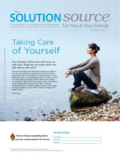 Taking Care of Yourself - Summer 2015 Newsletter Health And Wellness, Mental Health, Care About You, Summer 2015, Self Care, Counseling, Physics, Health Fitness, Physique