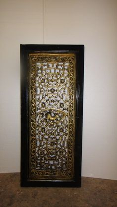 Black/Gold Wall Hanging