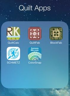 Smartphone Apps for Quilters: C'mon, Get Appy!
