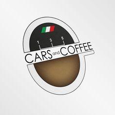 Progettazione Logo azienda auto di lusso.-Cars and Coffee #logo #logodesign #cars #coffee #grafica @graphiCreation