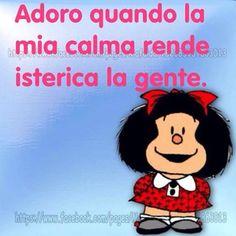 La virtù dei forti Funny Phrases, Funny Quotes, Funny Images, Funny Pictures, Funny Pics, Feelings Words, Snoopy, Good Morning Good Night, Vignettes