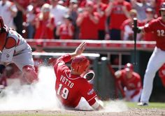 Things to do this week: Aug. 24-30. Photo: Cincinnati Reds first baseman Joey Votto scores. The Enquirer/Kareem Elgazzar