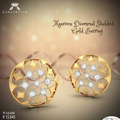 An easy way to make her day...! #diamond #studearring