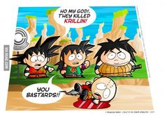 OMG, They killed Krillin!