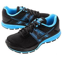 f007d7befced7 Nike Men s Air Pegasus 29 - Black Blue Pegasus