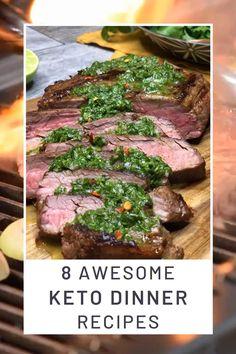 Keto Crockpot Recipes, Sauce Recipes, Low Carb Recipes, Keto Recipe Book, Recipe 30, Dinner Ideas, Dinner Recipes, Salmon With Avocado Salsa, Tomato Cream Sauces