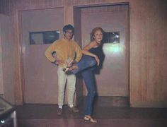 Sharon Tate and Bruce Lee