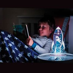 Rocket Sleepy Light, a gorgeous night light for kids Age 6 !