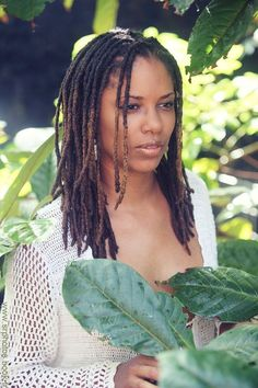 Dreadlocks, also locs, dreads, or in Sanskrit, Jata, are ropelike strands of hair formed by matting or braiding hair. While leaving hair to its own devices – foregoing brushing, combing or cutting the hair – will generally result in tangles and mats, the formation of evenly sized dreadlocks often takes planning and maintenance.  | If You're in Philadelphia or just passing by, check out the Sisterlock technicians at Beauty Coliseum - Beautycoliseum.com Dreadlock Styles, Dreadlock Hairstyles, Girl Hairstyles, Braided Hairstyles, Black Hairstyles, Wedding Hairstyles, Locs, Sisterlocks, Natural Hair Care