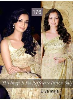 ShoppingOye: Bollywood Diya Mirza Bollywood Saree Bollywood Act...