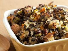 Wild Rice and Goat Cheese Dressing from CookingChannelTV.com