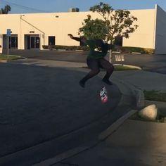 Instagram #skateboarding video by @yungt0ne - Sailing through those $treets @theotisbeasley #skateboarding #cruisin #rollforever @nikesb @bakerskateboards @brooklynprojectsla. Support your local skate shop: SkateboardCity.co