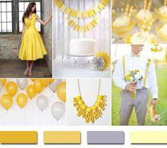 elegant-yellow-and-gray-summer-wedding-color-ideas-2014.jpg (600×531)