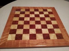 Chess Board Carpathain Elm & Mappa