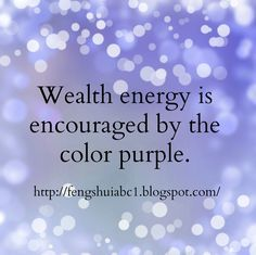 Feng shui elements will increase the positive energy in your home. http://fengshuiabc1.blogspot.com/