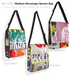 Medium Messenger Banner Bag