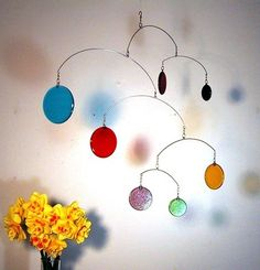 Mobile may refer to: Modern Stained Glass, Stained Glass Designs, Stained Glass Projects, Stained Glass Art, Mosaic Glass, Fused Glass, Hanging Mobile, Hanging Art, Mobiles Art