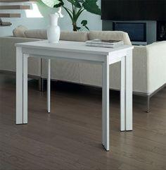 Tavolo consolle allungabile nuovo, prezzo sottocosto | loft ...
