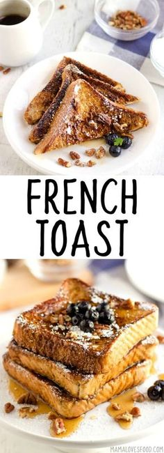 Personalized Graduation Gifts - Ideas To Pick Low Cost Graduation Offers French Toast - French Toast Is A Weekend Treat At Our House, And Youre Going To Love This Recipe Because Its The Best French Toast Youll Ever Make Homemade French Toast, Best French Toast, Brunch Recipes, Sweet Recipes, Breakfast Recipes, Breakfast Ideas, Breakfast Buffet, Breakfast Bars, Easy Recipes
