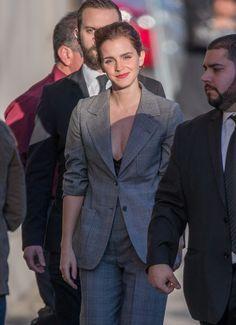 Emma Watson Photos Photos - Emma Watson is seen at 'Jimmy Kimmel Live' on March 6, 2017. - Emma Watson at 'Jimmy Kimmel Live'
