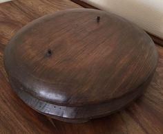 forme à chapeau bois métier modiste chapelier déco XIX ème